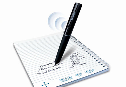 Use the Livescribe Echo SmartPen to take Notes and Record Audio during Lectures or Meetings