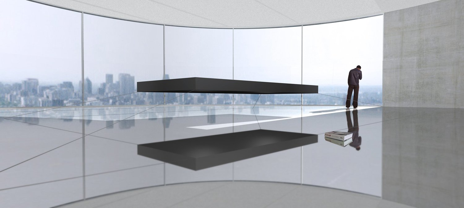 Magnetic floating bed a 1 6 million - This Millionaire S Magnetic Floating Bed