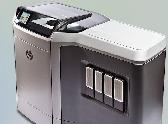 Hewlett-Packard Multi Jet Fusion Printers enters the 3D printing Race