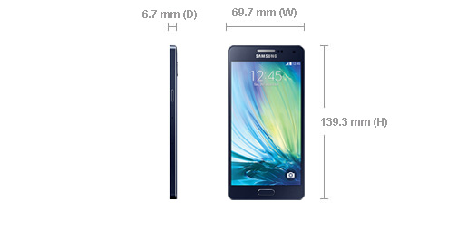 Samsung Galaxy A5 – Samsung's Thinnest Metal Bodied Smartphone