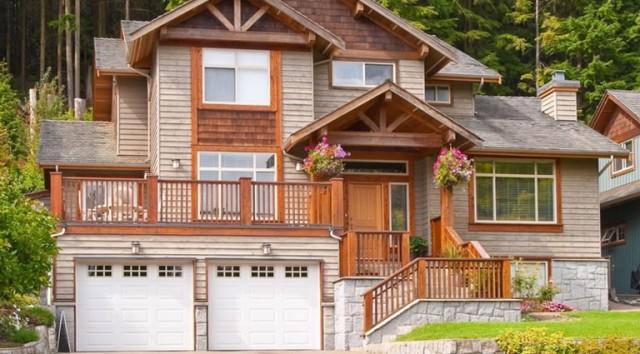 exterior wooden trim