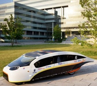 The Most Efficient Solar-Powered Car Exports electricity to the Grid