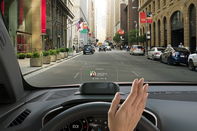 Heads-up display for cars