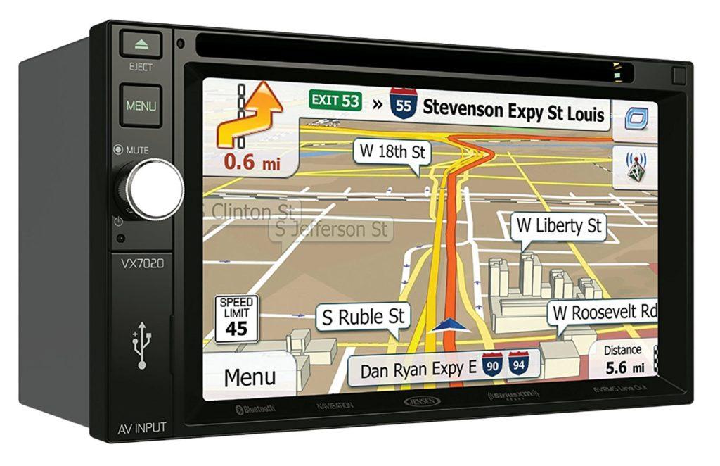Jensen VX7020 Multimedia Navigation