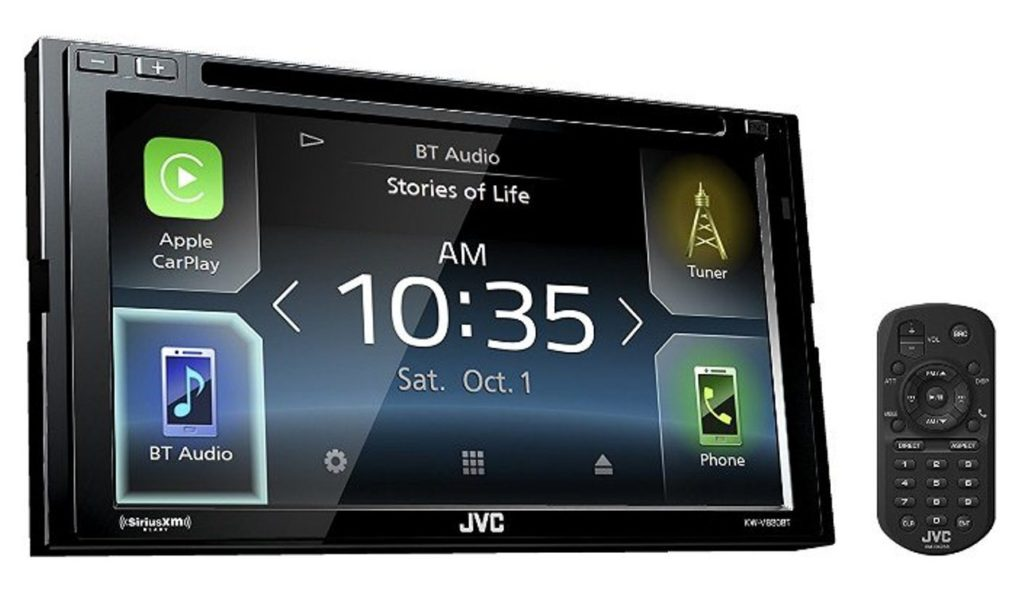 JVC KW V830BT Double Din Bluetooth
