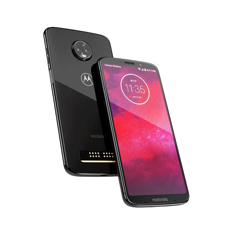 Buy the Moto Z3 Play or Z3 32 GB and get a free Hasselblad True Zoom, Gamepad, or Stereo Speaker (valid 7/24-8/21)