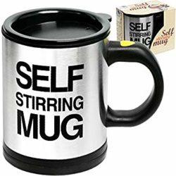 How does a Self-Stirring Mug Work, and Benefits